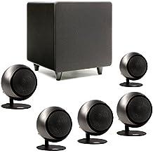 Orb Audio Mini 5.1 Home Theater Speaker System (Polished Steel)