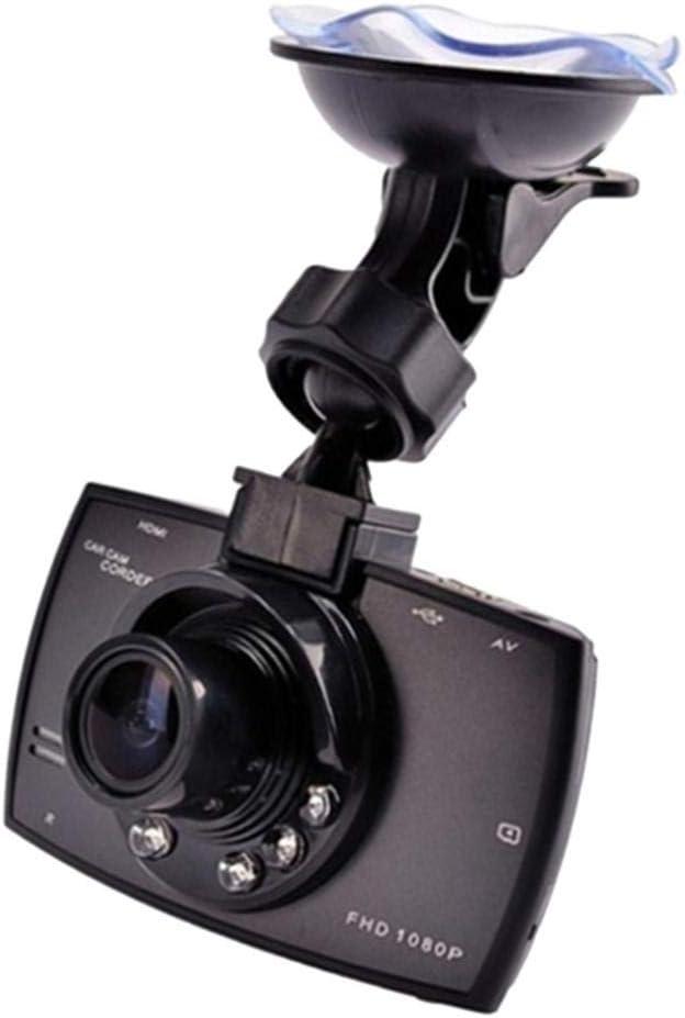 H HILABEE FHD Dashcam Cam/éra de Voiture avec 140/°Angle 1080p 2.7in Enregistrement en Boucle Monitor Stationnement Vision Nocturne Dash Cam/éra Embarqu/ée
