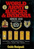 img - for World Army Badges and Insignia Since 1939 book / textbook / text book