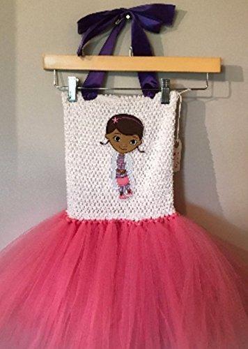 Disney Jr Doc McStuffins Tutu Dress Up Costume (3T - (Doc Mcstuffins Tutu Dress)