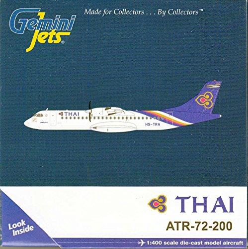 GEMGJ1360 1:400 Gemini Jets Thai Airways ATR-72-200 Reg #HS-TRA (pre-painted/pre-built)