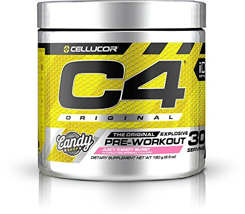 Cellucor, C4 Original Pre Workout Powder with Creatine, Nitric Oxide, Beta Alanine and Energy, G4v2, Juicy Candy Burst, 30 Servings (New Formula)