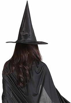 CGBOOM Sombrero de Bruja Halloween Witch Hat Fiesta de Traje ...