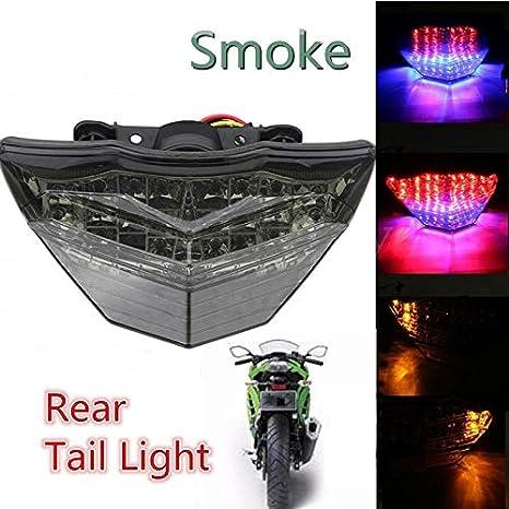 Luz de freno Luz trasera LED de giro de luz ahumada Luz de ...