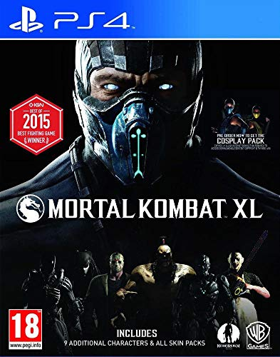 Mortal Kombat XL - Playstation 4 (Imported Version)