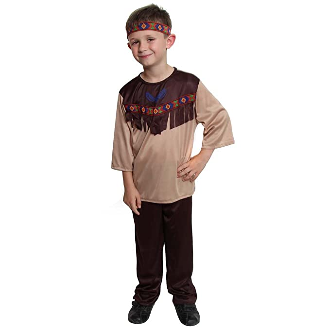 Native American Boys Costume, Size 6/8