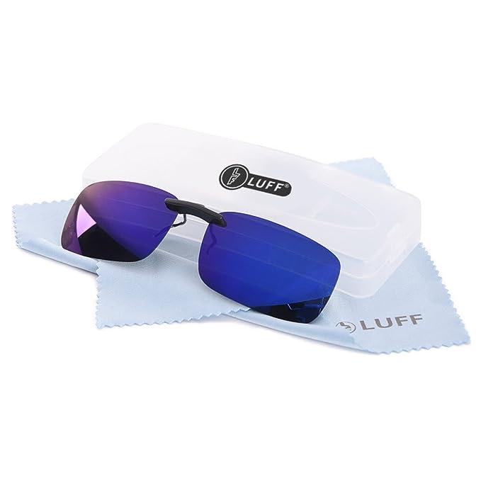 Polarizado Clip Unisex en Gafas de Sol para Anteojos Recetados-Buen Estilo de Clip Gafas