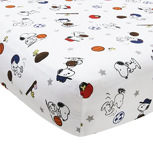 Bedtime-Originals-Snoopy-Sports-Sheet