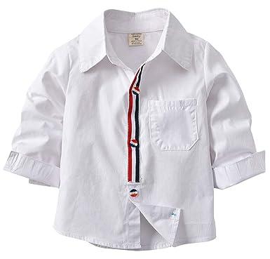 b83e94bc8e2f0 Moli Hani 子供 ワイシャツ シャツ Yシャツ 子供服 キッズ 結婚式 発表会 男の子 卒業式