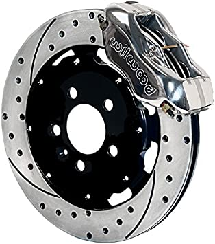 Front Black Hart Drilled Slotted Brake Rotors and Ceramic Pads Neon,PT Cruiser