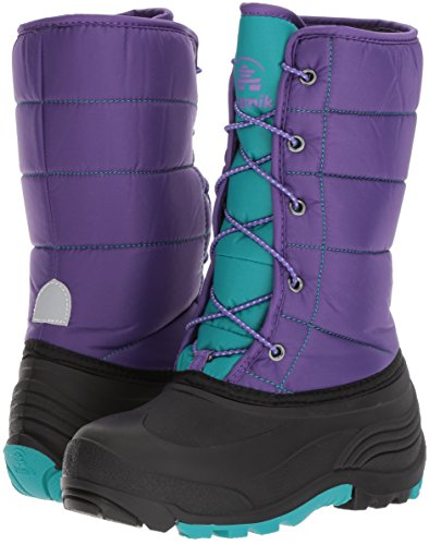 Pictures of Kamik Girls' Cady Snow Boot Purple/Teal NK4701S Purple/Teal 4
