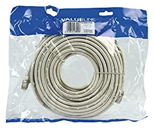 Nedis Valueline 20m FTP CAT 6 Network Cable - White by Valueline