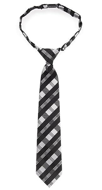 Corbata para chico, estilo tartán, de cuadros, tejido de ...
