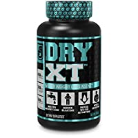 Dry-XT Water Weight Loss Diuretic Pills - Natural Supplement for Reducing Water Retention & Bloating Relief w/Dandelion Root Extract, Potassium, 7 More Powerful Ingredients - 120 Veggie Capsules