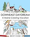 Downeast Daydream: A Maine Coloring Vacation