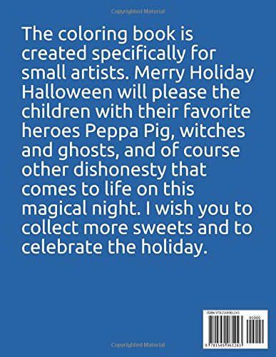 Peppa Pig happy Halloween: 40 coloring pages: Merry Books ...