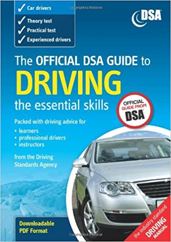 An actual driving lesson learning to drive a manual ca by.