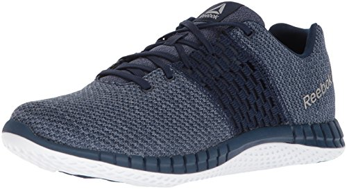 outlet best sale cheap sale order Reebok Men's Print Run Ultk Cross Trainer Coll. Navy/Washed Blue/Rain Cloud/White/Pewter clearance classic discount best sale 09raf40UXR