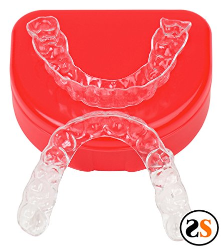 (Custom Essix Plus Super Clear Dental Retainers Upper and Lower)