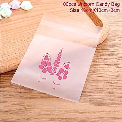 100 bolsas de regalo de unicornio para galletas, dulces ...