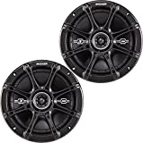 "Kicker 41DSC674 D-SERIES 6.75"" 2-Way Coaxial Car Speakers"