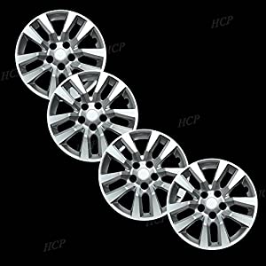 Amazon Com Silver 16 Quot Bolt On Hub Cap Wheel Covers For
