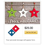 Dominos Feliz Navidad - Ornaments Gift Cards - E-mail Delivery