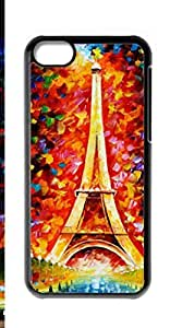 HeartCase Hard Case for Apple iPhone 5C ( Paris Tower )