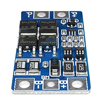 Amazon.com: 2S 10A 8.4V 7.4V 18650 Litio Protection Board ...