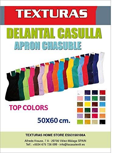 Delantal Casulla TOP COLORS TEXTURAS 50x70 cms (GRIS)