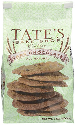 Tate's Bake Shop Cookies - Whole Wheat Dark Chocolate - 7 oz