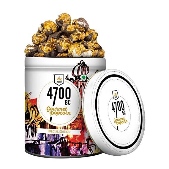 4700BC Tiramisu Chocolate Popcorn Tin, 125g