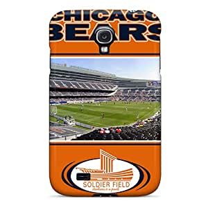 Awesome Design Chicago Bears Hard Case Cover For Galaxy S4