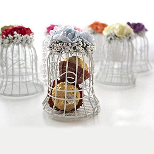 Paleo Jaula de pájaros caramelo de la boda caja de dulces cajas de ...