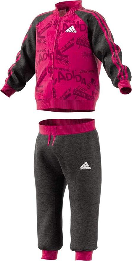 5ff9f670eb5c0e adidas Unisex Baby Basketballall Jogger French Terry Trainingsanzug ...