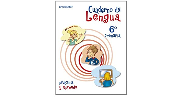 Cuaderno de Lengua 6º Primaria Cuadernos de lengua primaria - 9788424109608: Amazon.es: Muñoz Moro Beatriz: Libros