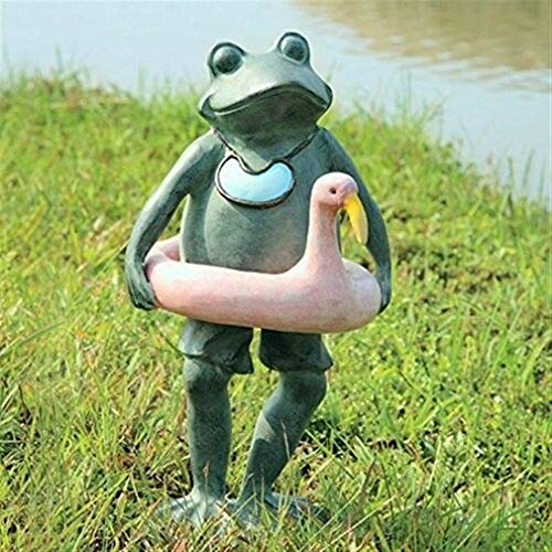 - Ky & Co YesKela SPI Home 33470 Beach Buddy Frog Sculpture 20