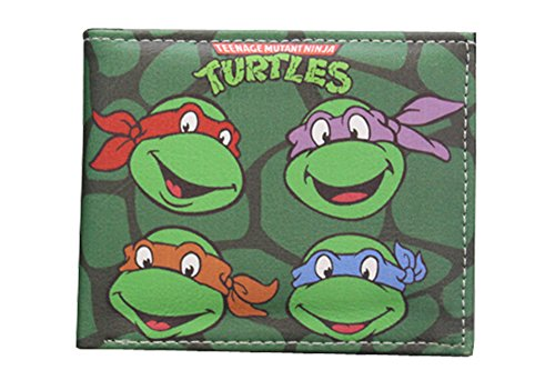 Teenage Mutant Ninja Turtles(TMNT) PU Leather Bifold Wallet (TMNT02)