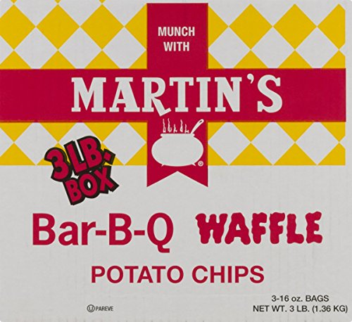 Martin's B-B-Q Waffle Potato Chips (3 LB - Delivery Prices B&q