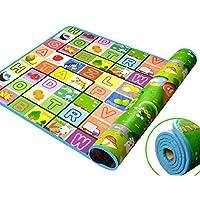 GLIVE (LABEL) Polyester Pongee Baby Play Floor Mat, 120x180 cm