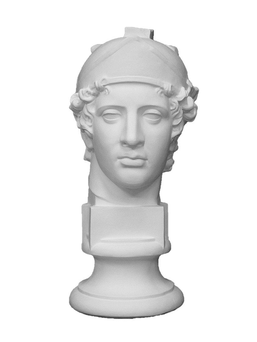 石膏像 S-210 青年マルス首像 H.57cm B008ET7UWK