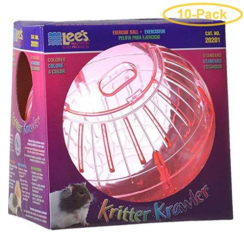 Lees Kritter Krawler - Assorted Colors Standard - 7'' Diameter - Pack of 10