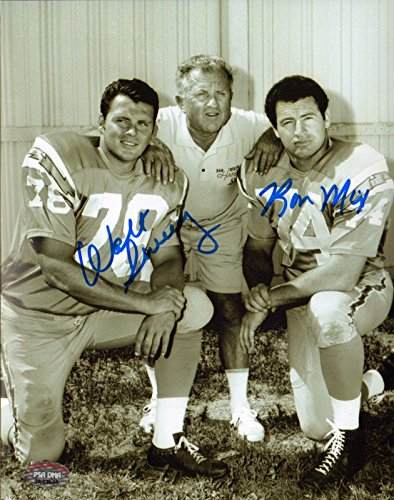 Ron Mix & Walt Sweeney Signed AFL Chargers 8x10 Photo COA Auto'd Picture - PSA/DNA Certified - Autographed NFL Photos