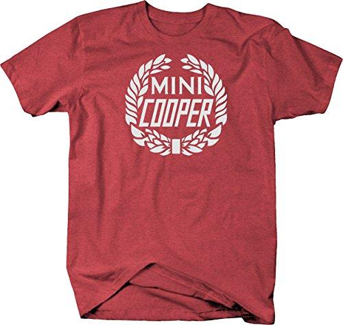 Mini Cooper Vintage Wreath Logo Tshirt - Medium