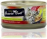Fussie Cat Tuna and Salmon Cat Food (2.8 oz), My Pet Supplies