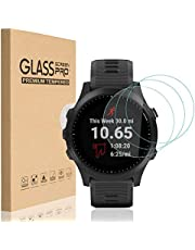 HEYUS [3 Pack] for Garmin Forerunner 945 Screen Protector 9H Hardness Scratch Resistant Anti-Bubbles Anti-Fingerprint Tempered Glass Screen Protector Protective Film Cover for Garmin Forerunner 945
