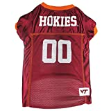 Pets First Collegiate Virginia Tech Dog Mesh Jersey, X-Large