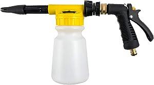 QWORK 30 OZ Car Wash Gun Foam Blaster, with Adjustment Ratio Dial for Car and Garden