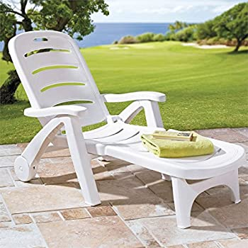 Amazon Com Nardi Omega Stackable Lounge Chairs Set Of 2