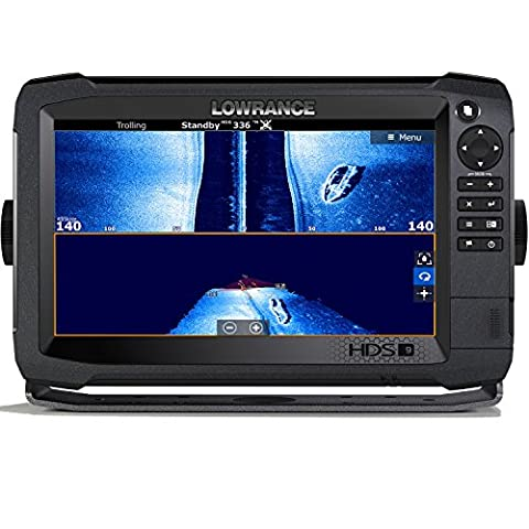 Lowrance Navico HDS-9 Carbon Insight with Total Scan Transducer (Hds 10 With Structure Scan)